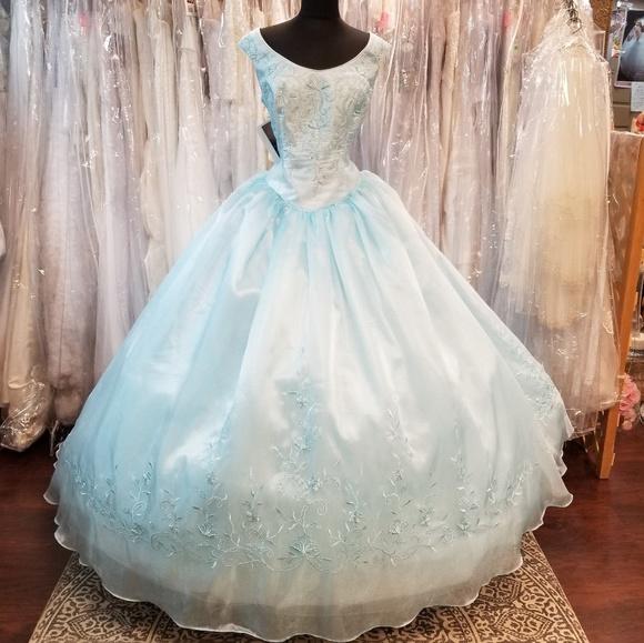 Mary's Bridal Dresses & Skirts - Waterfall Cinderella Ballgown